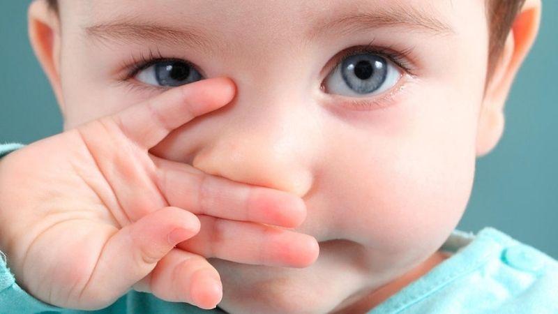 Dị ứng theo mùa khiến trẻ bị hắt hơi, sổ mũi hoặc viêm tai