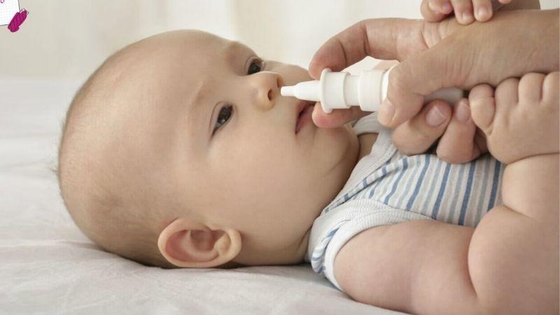Vệ sinh mũi cho trẻ